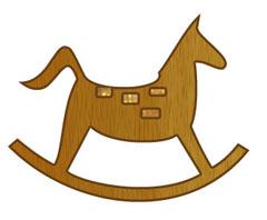 christmasrockinghorse