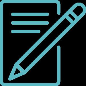 write-letter-blue